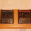 Desk compatible pedal board