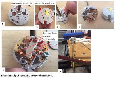 Geyser Water Temperature Sensor