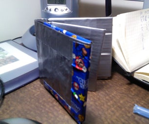 Bi-fold Duct Tape Wallet With Photo ID Flap
