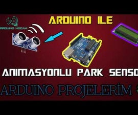 Parking Sensor with Arduino  and Ofcourse HC-SR04 :)