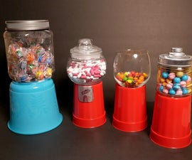 EASY $3 Dollar DIY Gumball Machines!