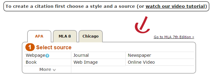 Locate the Citations of the Sources