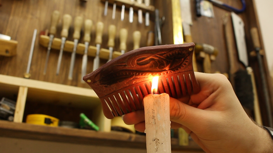 Charring With a Candle