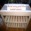 Baby Changing Table From Five 2x4x8' Studs