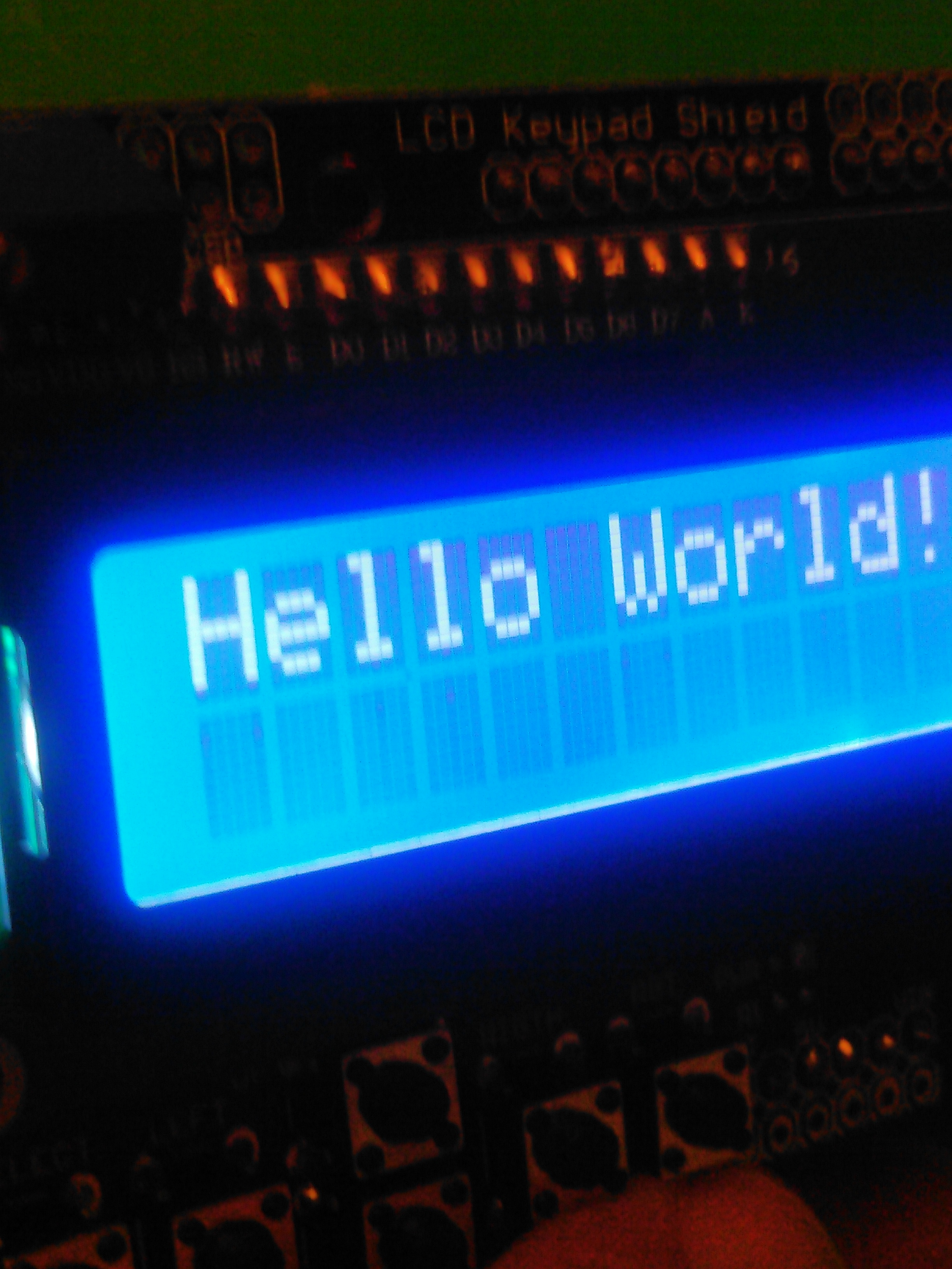Picture of Working With Option 1: Hello World!