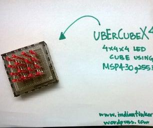 UberCube X4- the Benchtop LED Cube