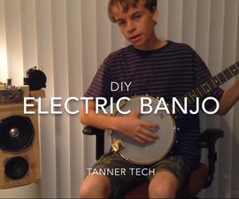 DIY Electric Banjo