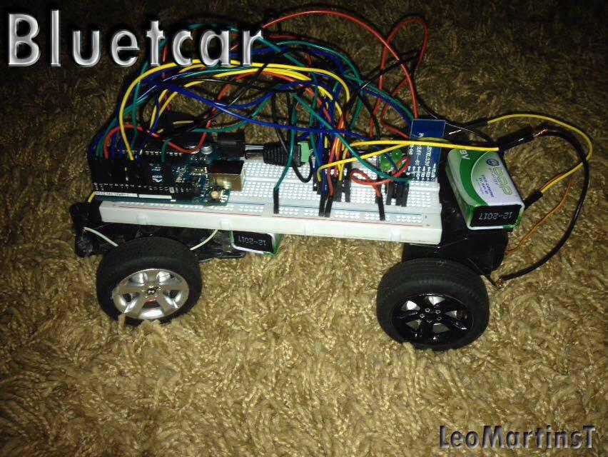 Picture of RC Bluetcar