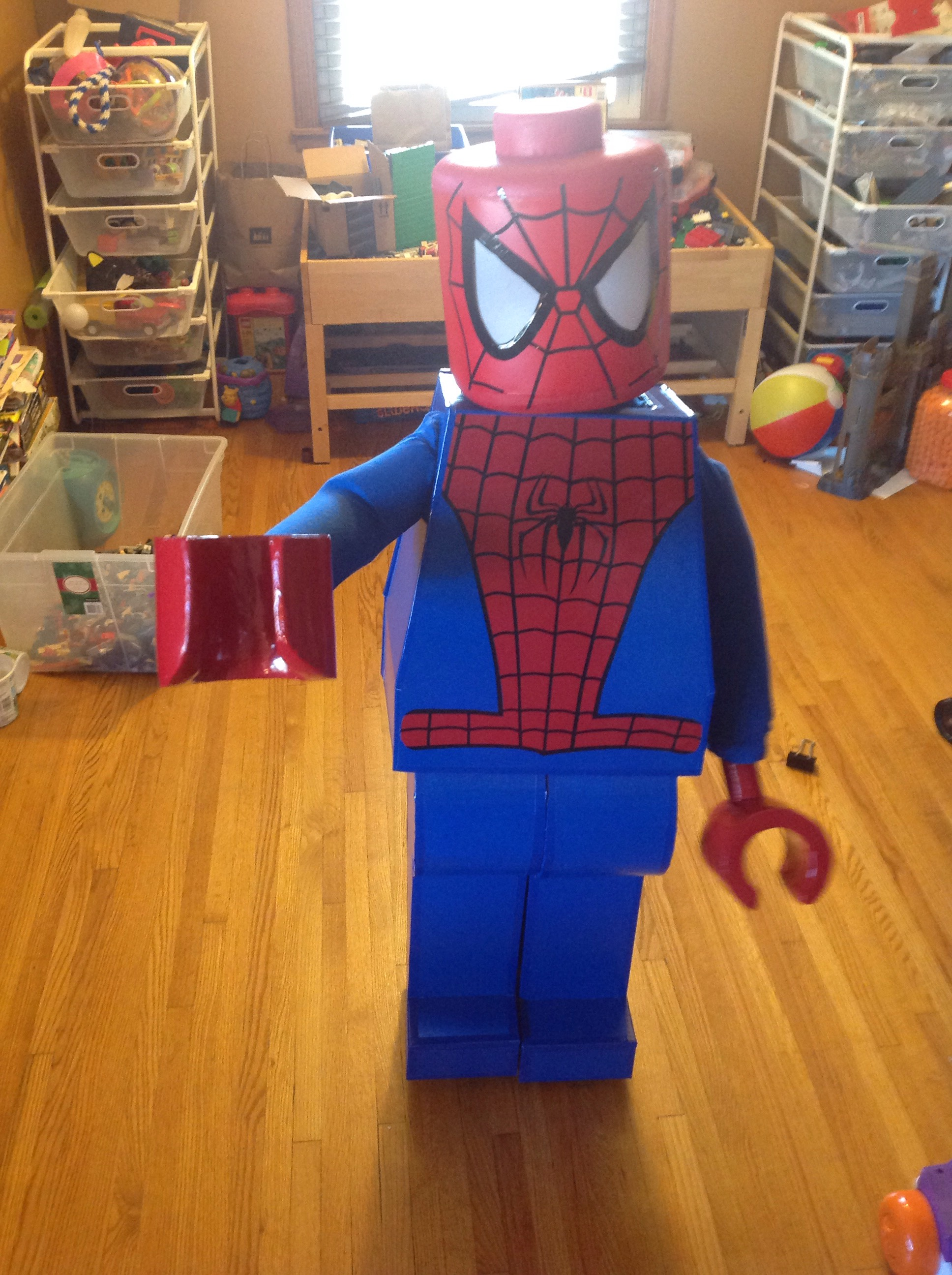 Picture of Lego Spider-Man Halloween Costume