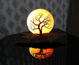 Super Moon Lamp