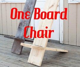 One Board Minimalist Chair