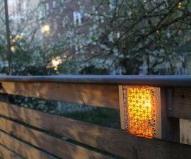 Built in Low Voltage Fence Lighting