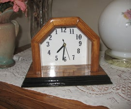 Backwards Alarm Clock