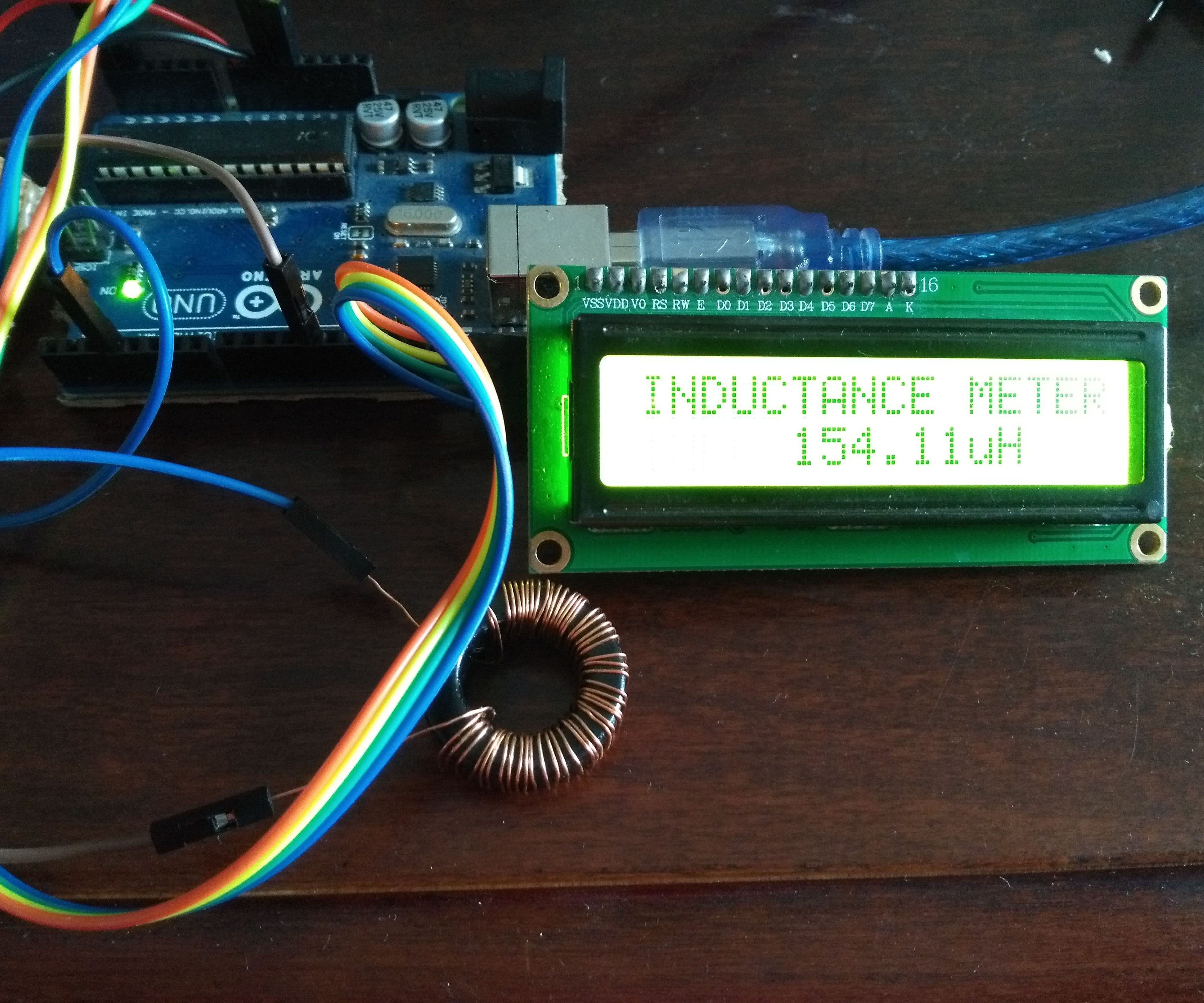 Inductance Meter Using Arduino: 12 Steps