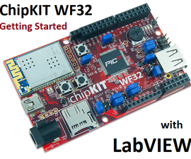 Getting Started with the ChipKIT WF32 (LabVIEW)