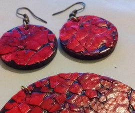Egg Shell Decorated Jewelry