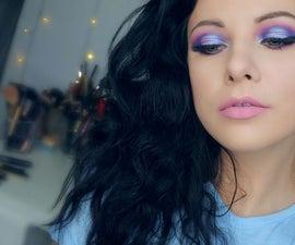 Blue Cut Crease Makeup Tutorial