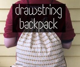 Beginner Drawstring Backpack