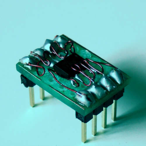 Picture of Soldering SMD Components