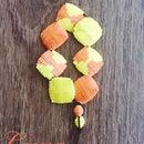 Dawn & Dusk Pillow Beads Bracelet