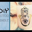 DIY Tattoo Candle