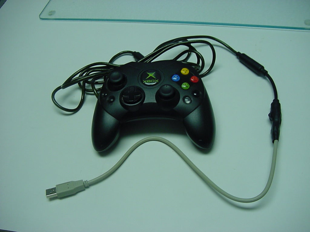 xbox controler via usb : 5 steps - instructables  instructables