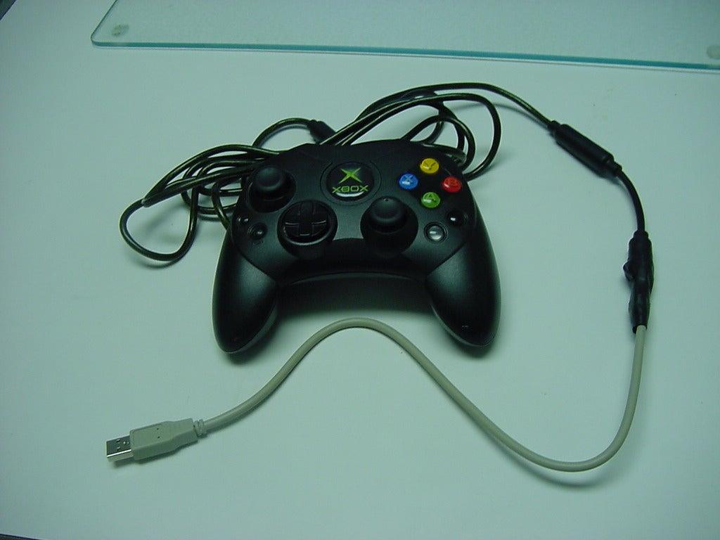 XBOX Controler Via Usb: 5 Steps