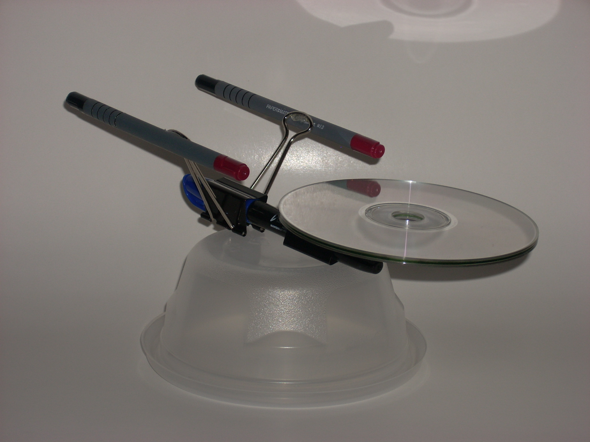 Picture of Build the Starship Enterprise From Useless Office Supplies