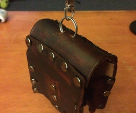 Leather Thumb Drive Case