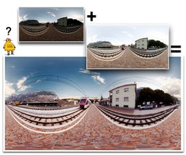 exposure bracketing for spectacular panoramas