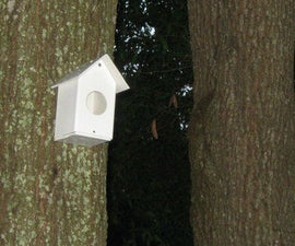 Simple PVC Birdhouses