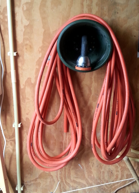 Picture of Hose Holder From Plant Pot