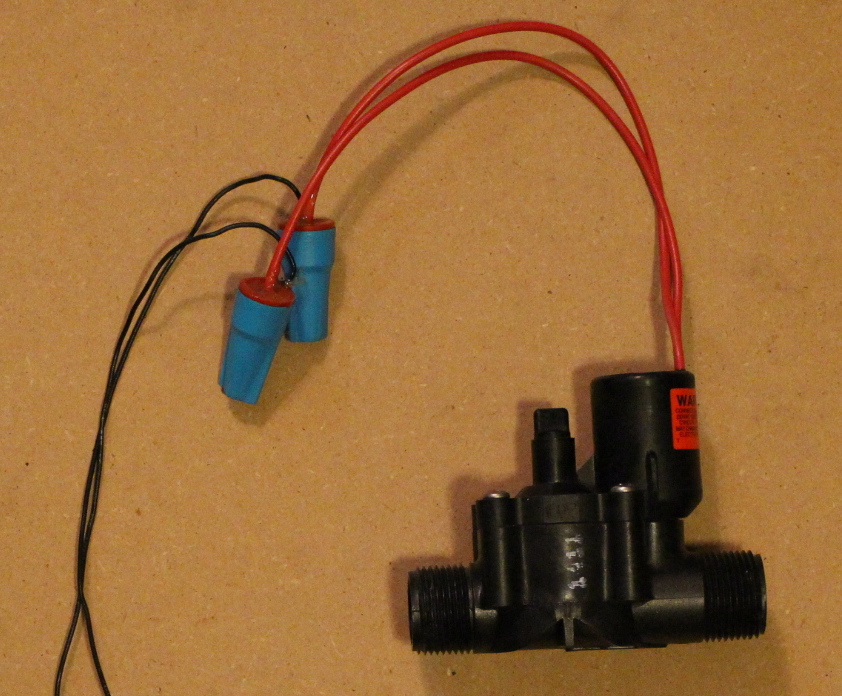 Picture of Solenoid Setup