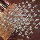 5 x 5 x 5 leds cube 74hc595 x 4