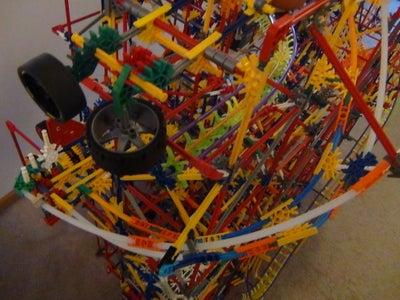 Whiplash Knex Ball Machine