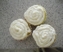 Coffee or Cinnamon-Orange Cupcakes with carmel Cream Cheese Frosting