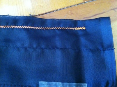 Sewing the Bottom Edge