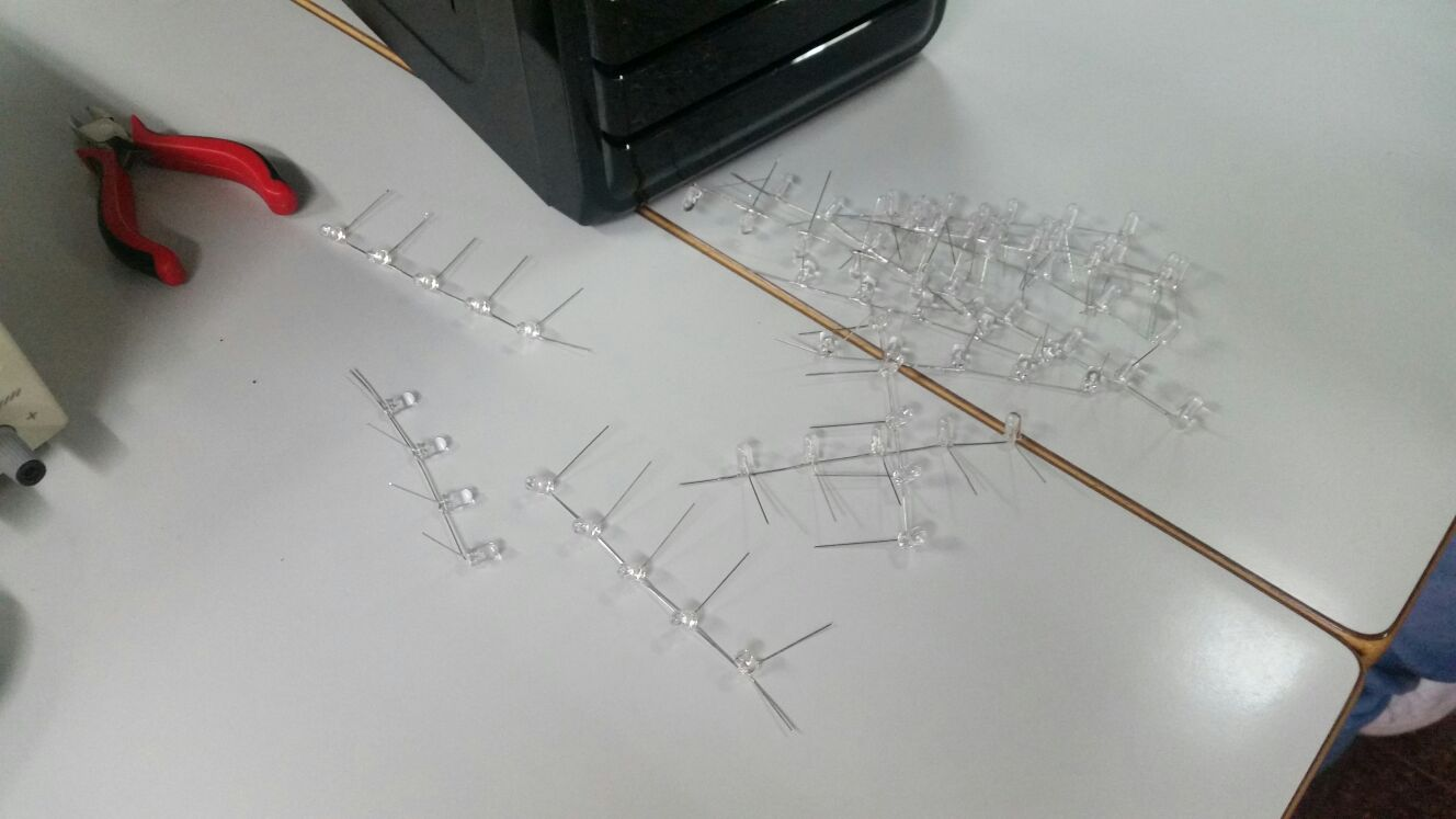 Picture of Soldering LED Layers