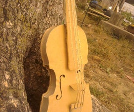 Card Board Violin