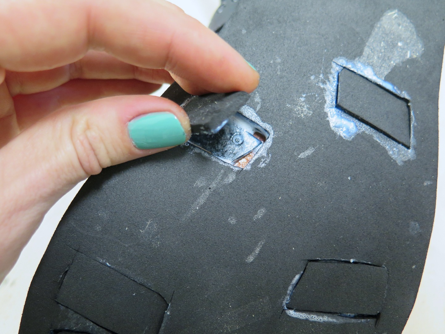 Picture of Attaching the Upper to the Sole