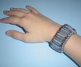 Make a Funky Safety Pin Bracelet
