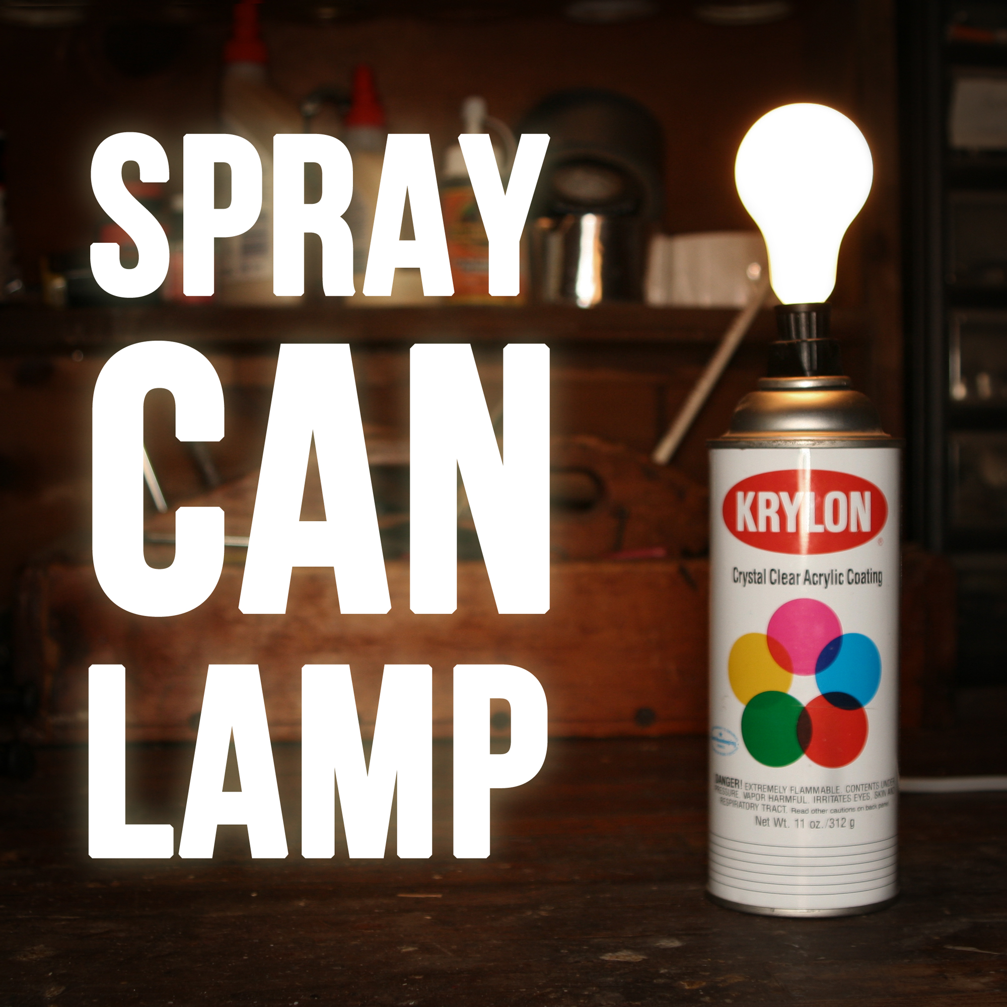 Picture of Spray Paint Can Lamp