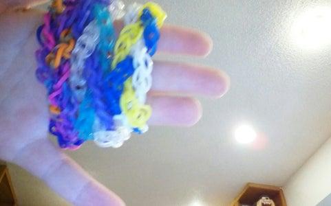 Rainbow Loom Hourglass Braid