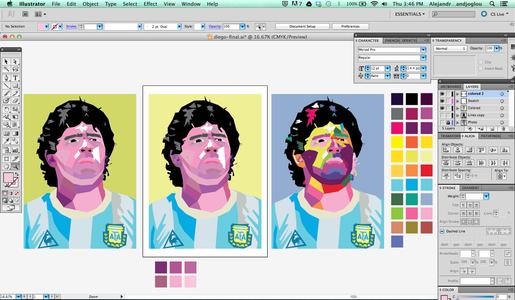 Coloring Process