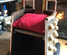 Steampunk Dalek Chair