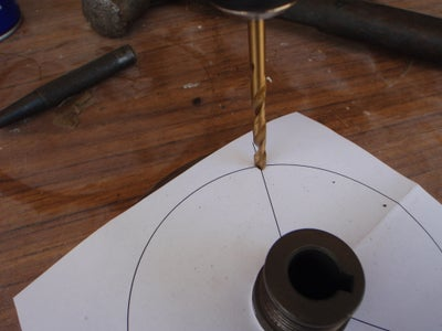 Drill and Tap the Flywheel