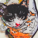 Kitten brooch