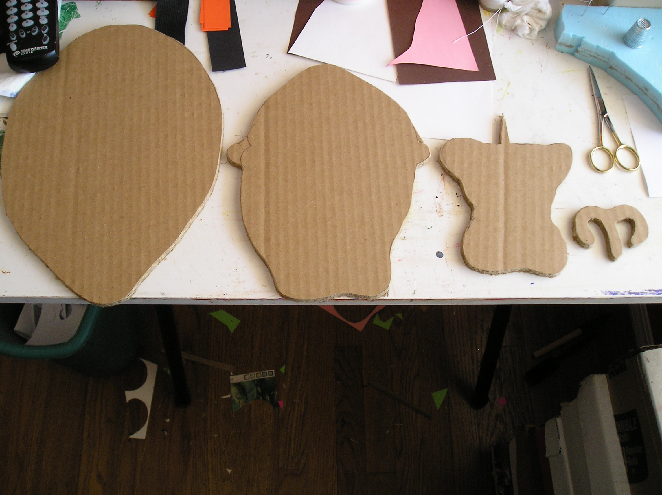 Picture of Use Previous Cutouts for the Templates