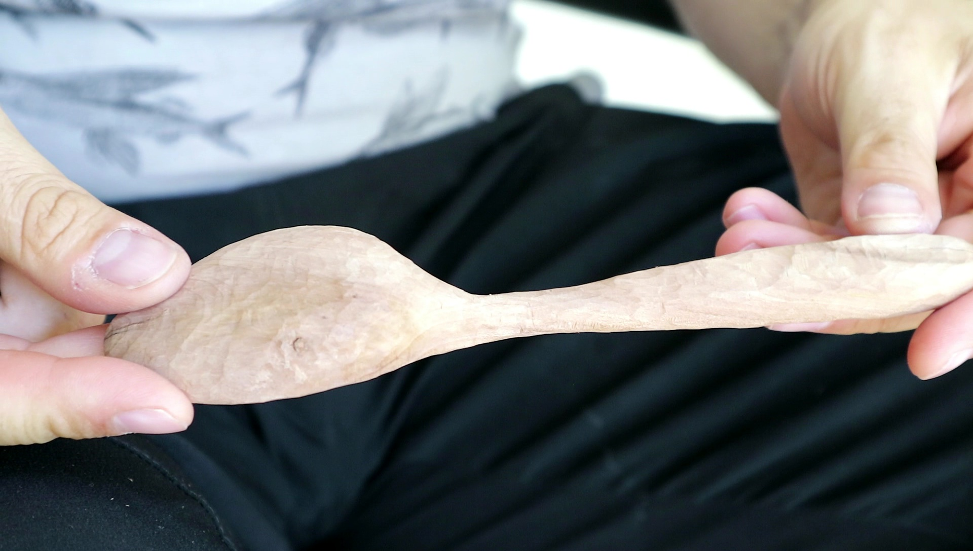 Picture of Shaping the Spoons