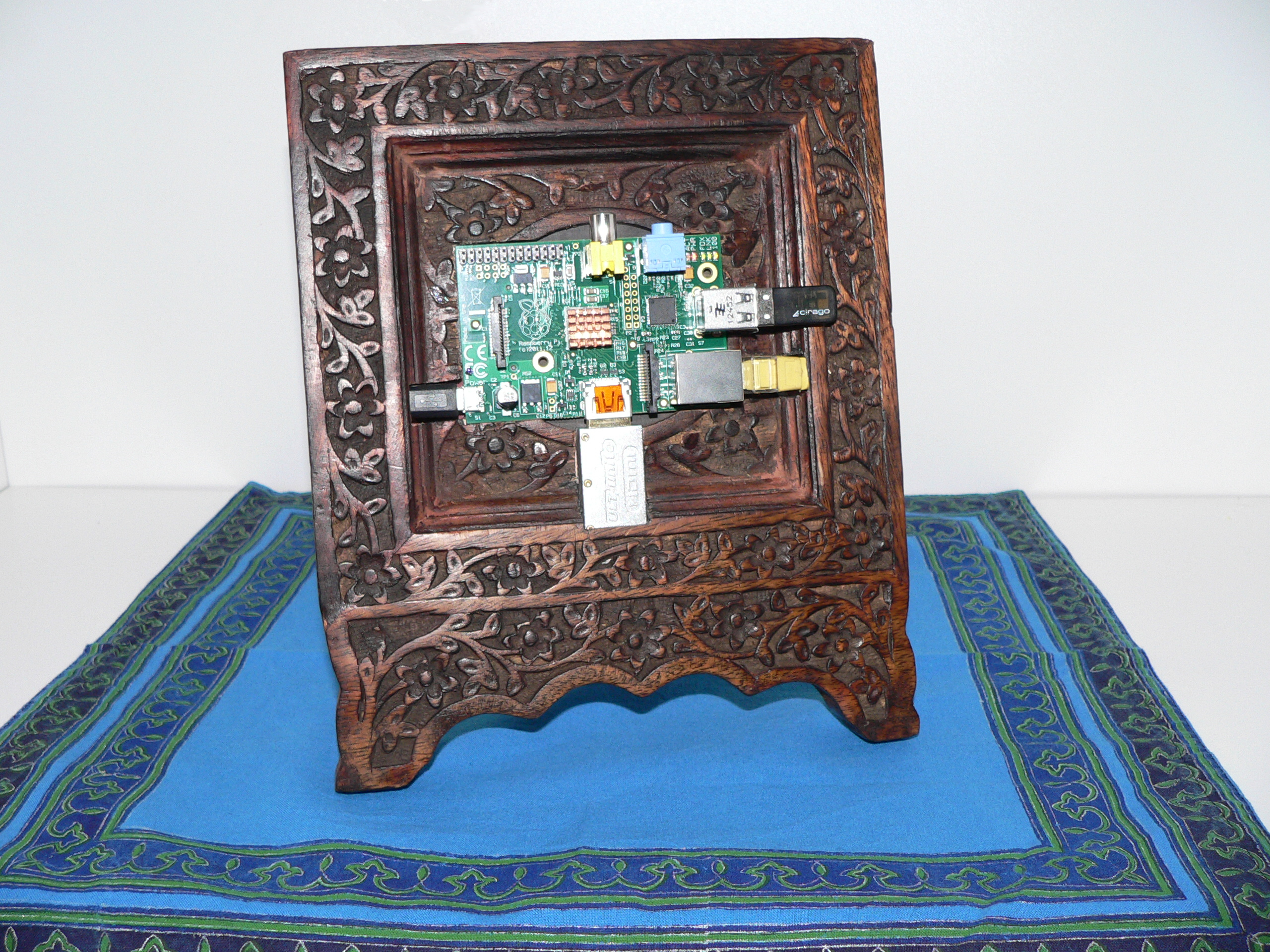 Picture of Wooden Raspberry Pi Picture Frame